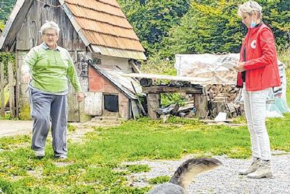 Obišli starije u Mrkoplju, Tuku i Sungeru