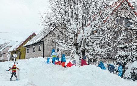 Život u Begovom Razdolju pod snijegom nije lagan