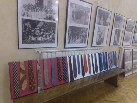 Izložba starinskih kravata (povodom 250. godišnjice osnutka Župe Mrkopalj)
